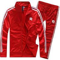 Демисезонный спортивный костюм Рибок, Reebok, красный (в стиле)