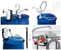 Ручной насос для перекачки едблу, мочевины, карбамида, воды, жидкости для омывания adblue PIUSI Италия