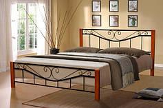 Ліжка з металу.
