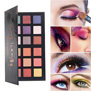 Набор теней для век Beauty Glazed Warm Tone ultra pigmented eyeshadow 18 цветов