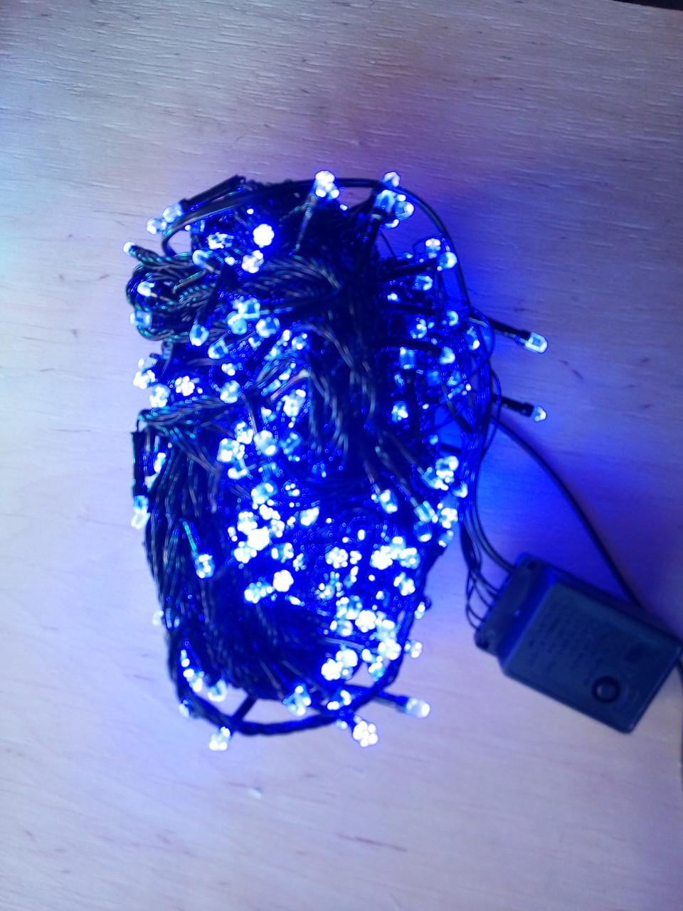 Новогодняя светодиодная гирлянда РУБИНКА 100LED синий
