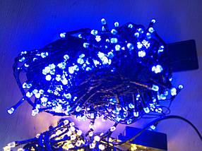 Новогодняя светодиодная гирлянда РУБИНКА 100LED синий , фото 2