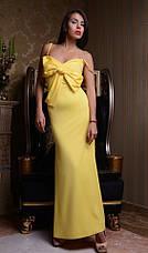 Платье микродайвинг длинное , фото 2