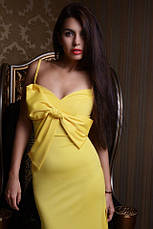 Платье микродайвинг длинное , фото 3