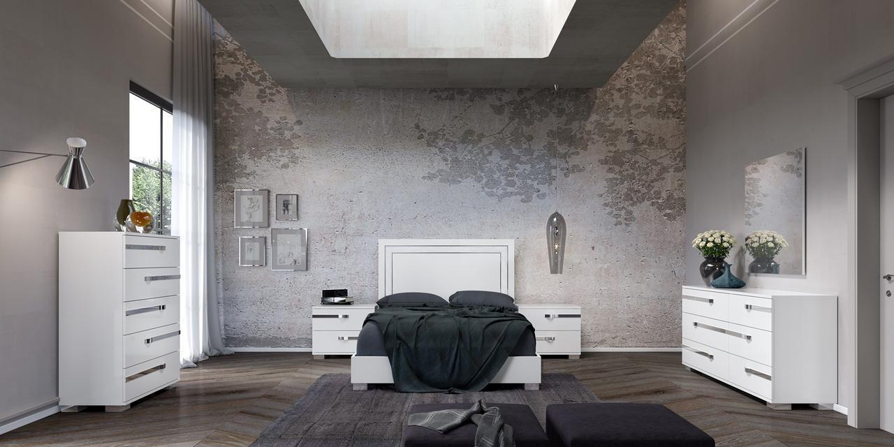 Кровать 180*203 Volare White