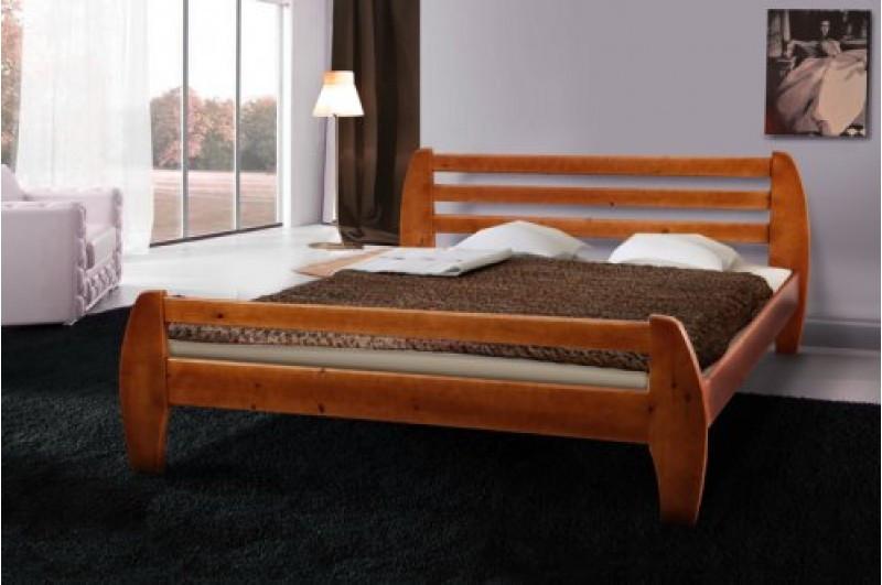Ліжко з масиву сосни -GALAXY (1,8 м)