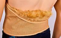 Пояс корсет из собачьей шерсти - согревающий пояс для спины, фото 1