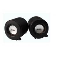 Колонки 2.0 JEDEL JD-S617/G101A USB+3.5mm, 2x3W, 90Hz- 20KHz, с регулятором громкости, Black, BOX, Q72