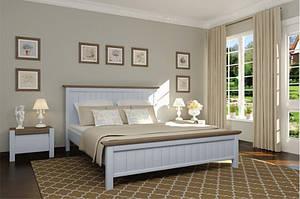 Кровать из массива дерева в стиле прованс -Беатрис (1,6 м)