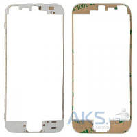 Передняя панель корпуса (рамка дисплея) Apple iPhone 5 White