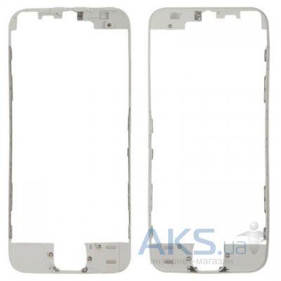 Передняя панель корпуса (рамка дисплея) Apple iPhone 5S White