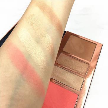 Набор для макияжа Beauty Glazed highlight @ contour pressed powder palette, фото 2
