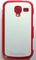 Чехол 2D для Samsung GT-i8160 Красный
