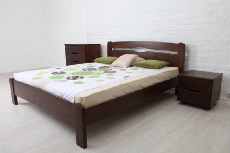 Кровать из массива бука -Каролина (без изножья)
