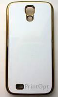 Чехол 2D для Samsung S4 i9500 Золото