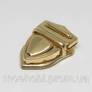 Замок для сумки золото  4575
