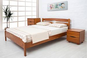 Кровать из массива бука Ликерия -люкс