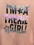 Утепленная кофта для девочки подростка 140 см, фото 2