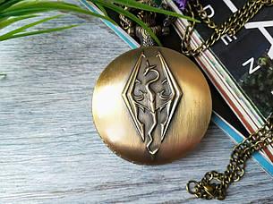 Часы Кулон Скайрим Skyrim, фото 2