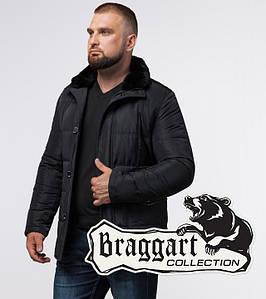 Braggart Status 3845 | Мужская зимняя куртка черная