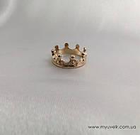 Кольцо корона золото в Украине. Сравнить цены 7178a7d7cae2d