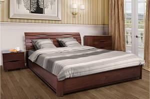 Деревянная, двухспальная кровать Мария на подъемной раме.