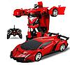 Машинка Робот Трансформер Lamborghini на пульте управления(автобот)