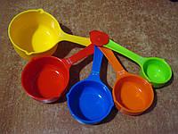 """Мерные """"ложки"""" ЯРКИЕ """"max"""" разноцветные., фото 1"""