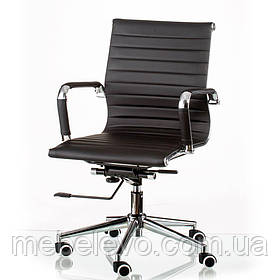 кресло офисное Solano 5 artleather black    Special4you