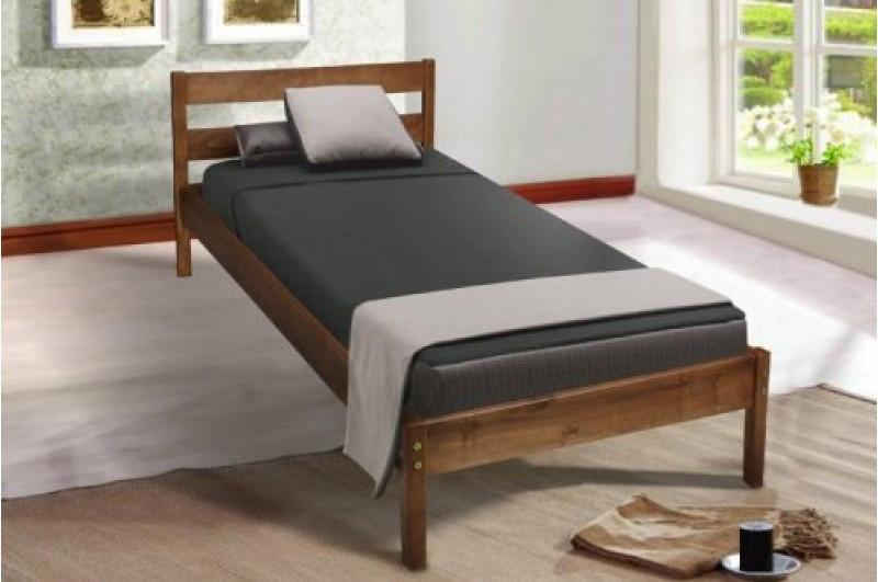 Кровать деревянная, односпальная SKY-1