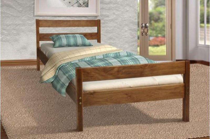 Кровать односпальная из массива дерева SKY-2