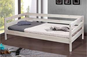 Детская деревянная кровать -SKY-3 (цвет белый)