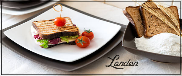Тарелка десертная Ipec London 21 см FDL21I, фото 2