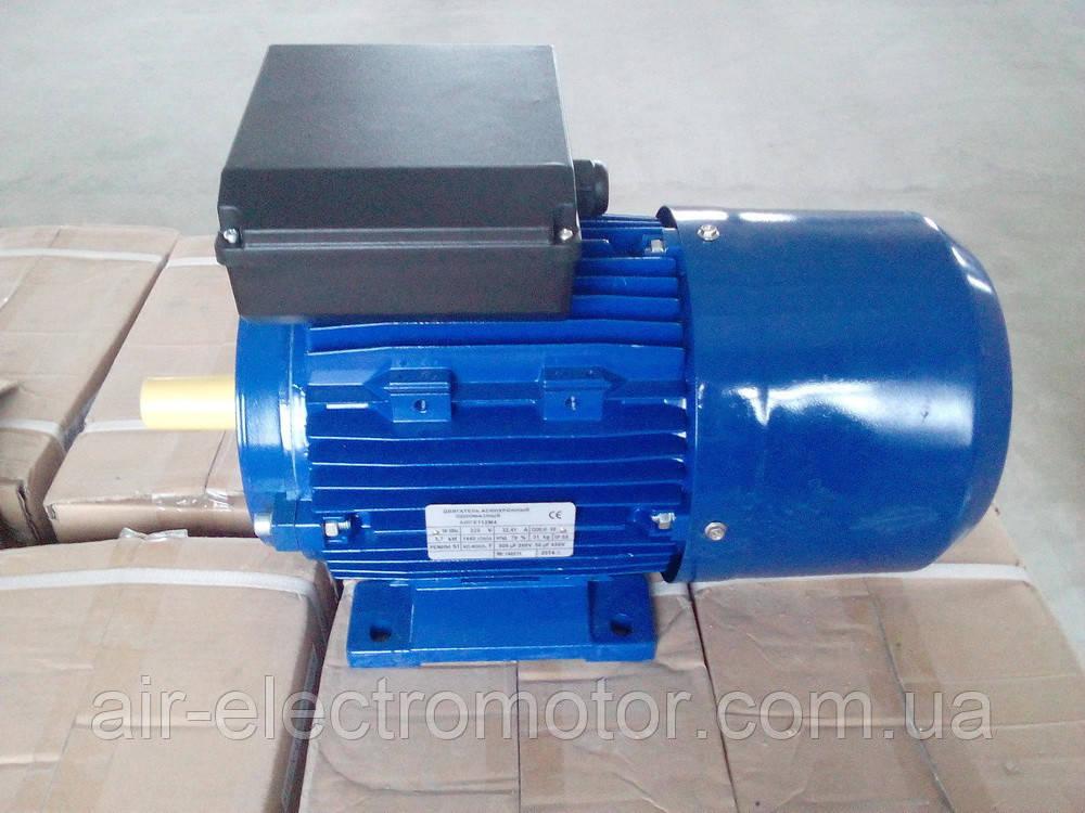 Однофазные электродвигатели ML80 В4 - 0,75 кВт/1500 об/мин