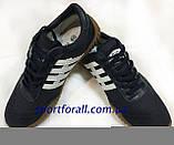 Кеды замшевые  черные -808 Р 42-46, фото 4