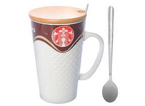 Чашка керамическая Kronos Top Starbucks 400 мл (tps_88-8721424)
