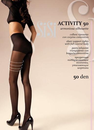 6562676186d0 Утягивающие колготки SiSi Activity 50 den, цена 98 грн., купить в Харькове  — Prom.ua (ID#811542736)