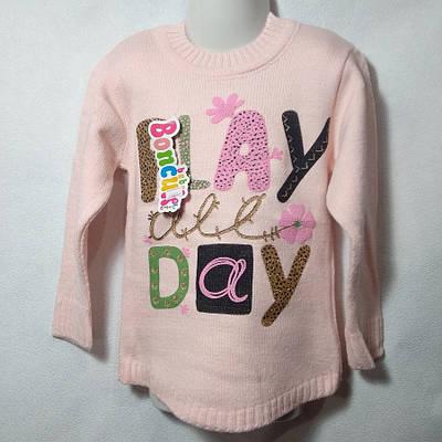 Детский свитер на девочку нарядный 1-3