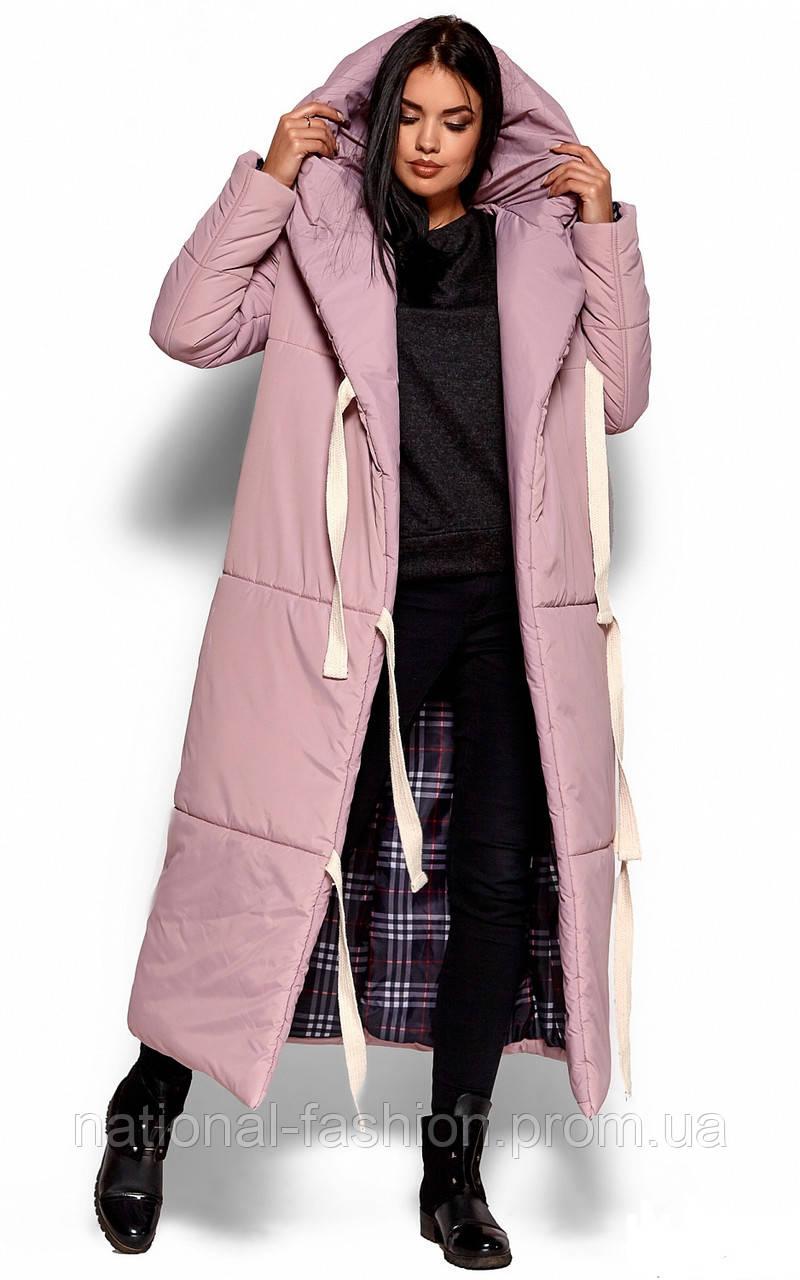 449831166afea Зимнее женское пальто-одеяло