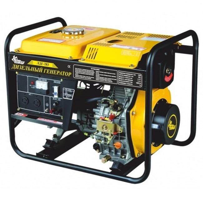 Дизельный генератор Кентавр ЛДГ 283Э/2.8-3.0 кВт (электростартер, AVR)