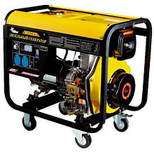 Дизельный генератор Кентавр КДГ 505ЭК/5.0-5.5 кВт (электростартер, датчик регул. уровня)