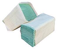"""Бумажные полотенца зелёные V – образного сложения для диспенсеров """"Green ix"""" + видео"""