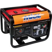 Бензогенератор Miol 83-150/1.5-1.7 кВт (ручный запуск + аккумулятор)