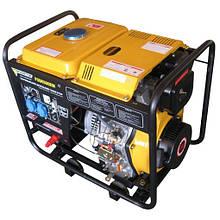 Дизельный сварочный генератор Forte FGD 6500 EW/2.0-2.5 кВт (ручной/электростартер, профи)
