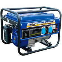 Бензогенератор Werk WPG 3000E/2.2-2.5 кВт (электрический/ручной стартер+аккумулятор)