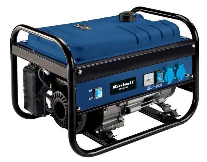 Бензогенератор Einhell BT-PG 2000 BLUE/2.0-2.2 кВт (ручной стартер)