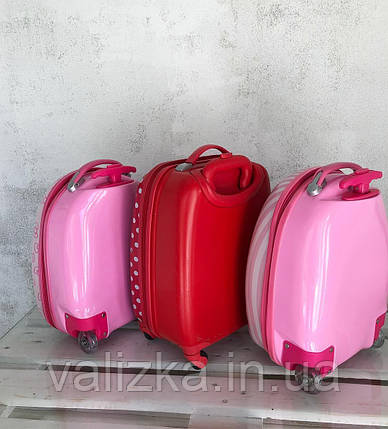 Детский чемодан для девочки на 2-х колеса ручная кладь Мини маус Микки маус 44 см Дитяча валіза, фото 2