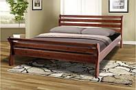 Деревянная 2-х спальная кровать из массива дерева -Ретро 2