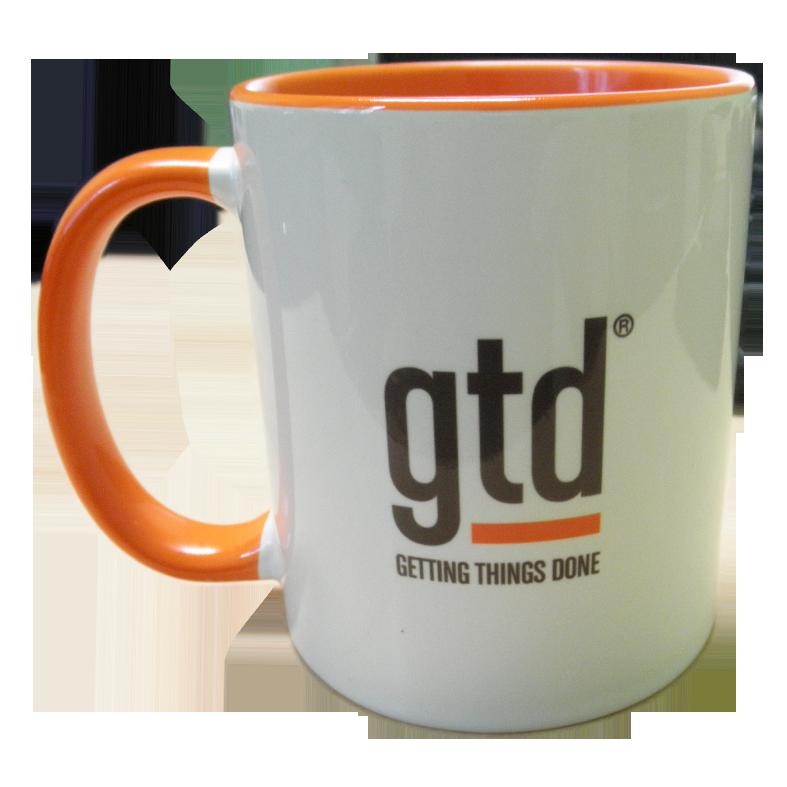 """Чашка (кружка) """"оранжевая"""" с нанесением логотипа, фотографии, надписи"""