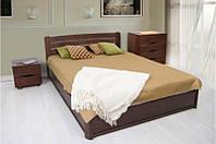 Деревянная 2-х спальная кровать на подьемной раме - София